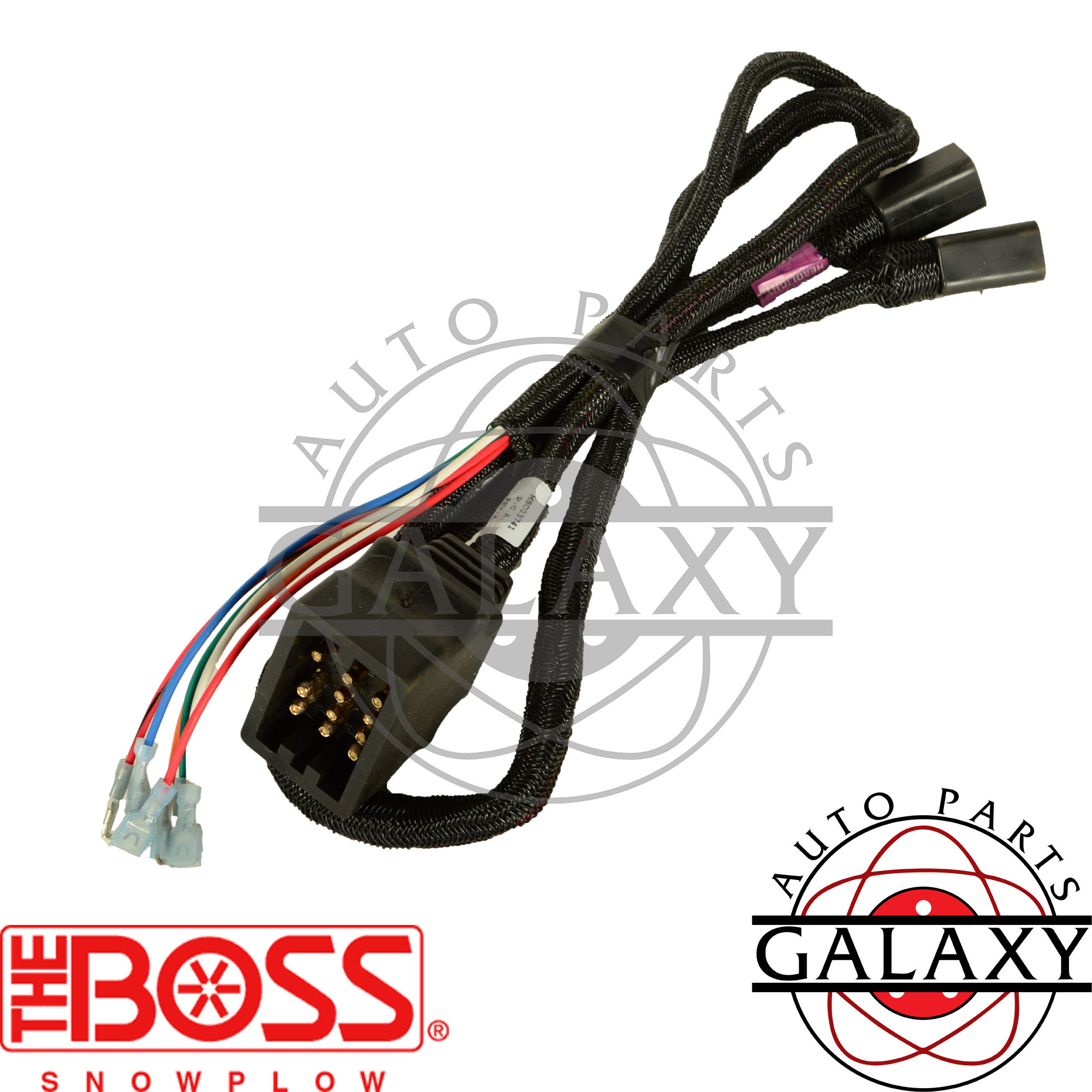 Boss Snow Plow Lights Wiring Harness To Diagrams Diagram Msc03741 Ebay Installation Light